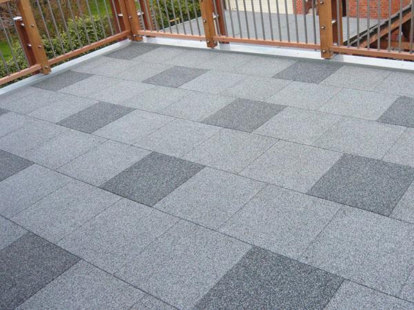 Gardens Rubber Flooring Terraces Rubber Flooring Balconies