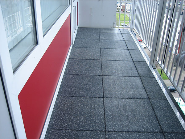 Sbr And Epdm Rubber Tiles